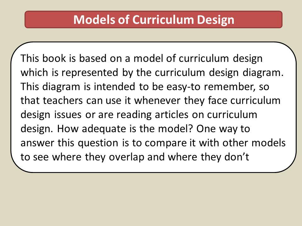 Models of Curriculum Design
