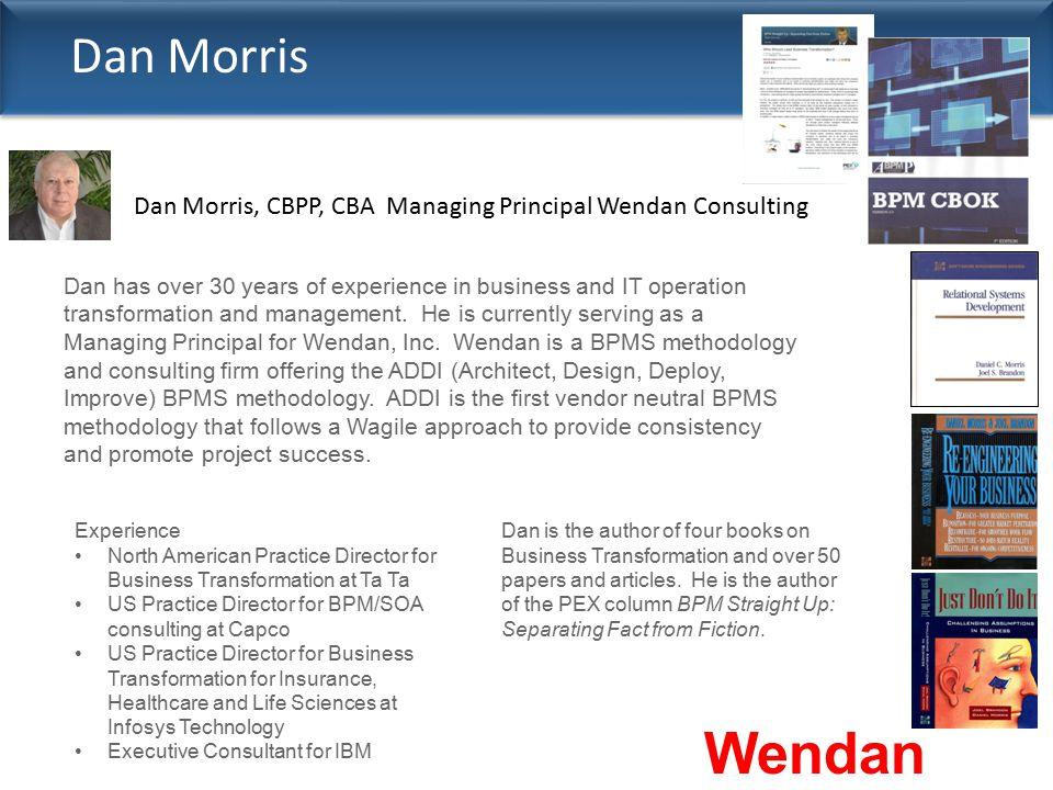 Wendan Consulting Dan Morris