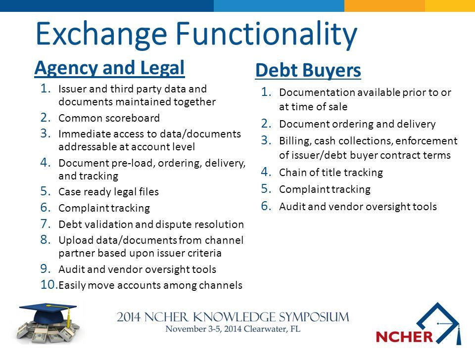 Exchange Functionality