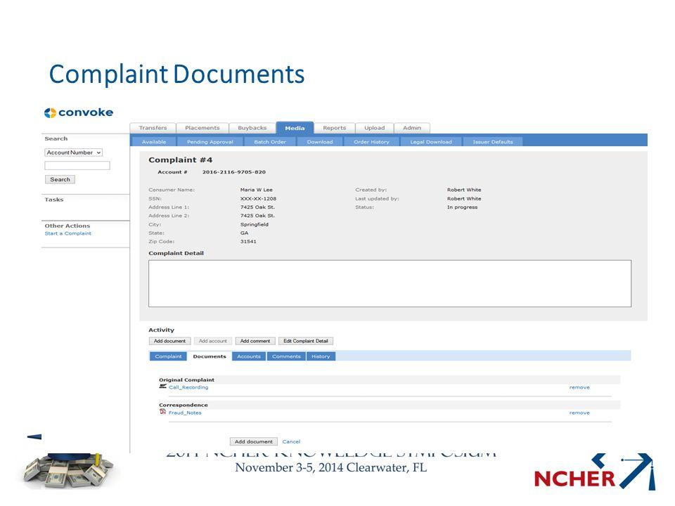 Complaint Documents