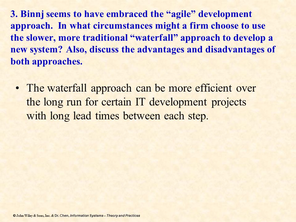 3. Binnj seems to have embraced the agile development approach