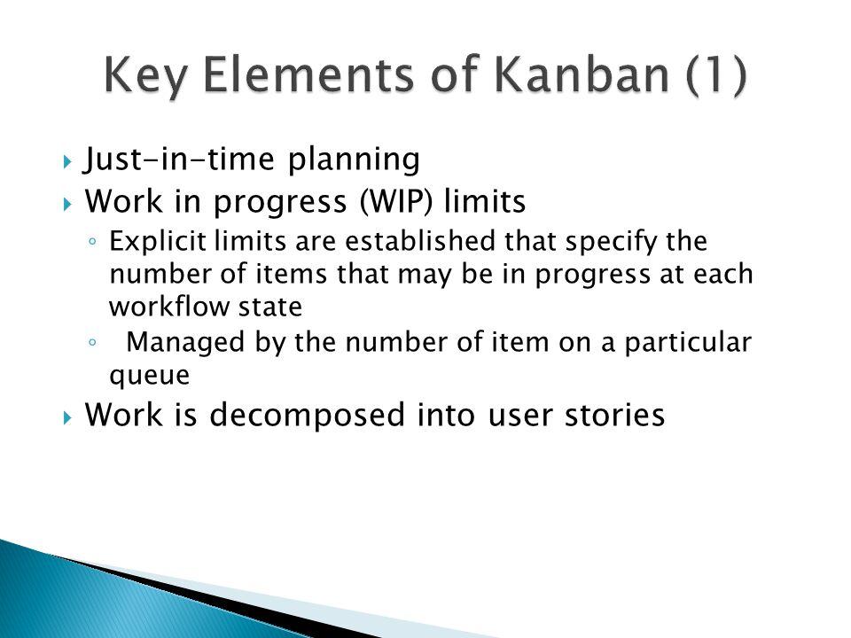 Key Elements of Kanban (1)