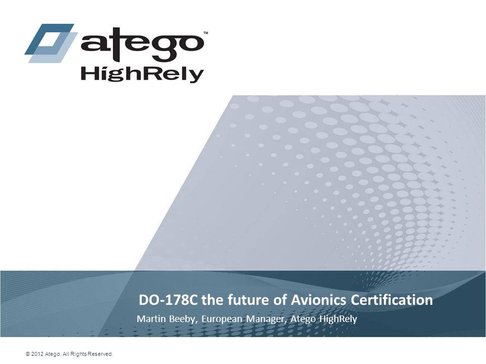 DO-178C the future of Avionics Certification