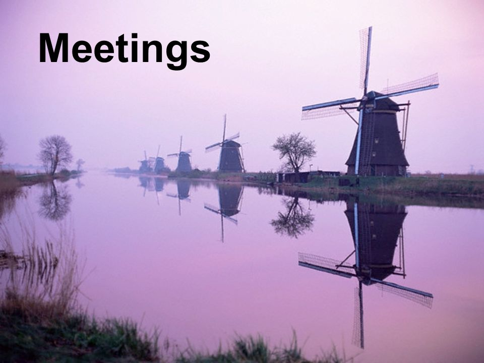 Meetings Leadership Influence