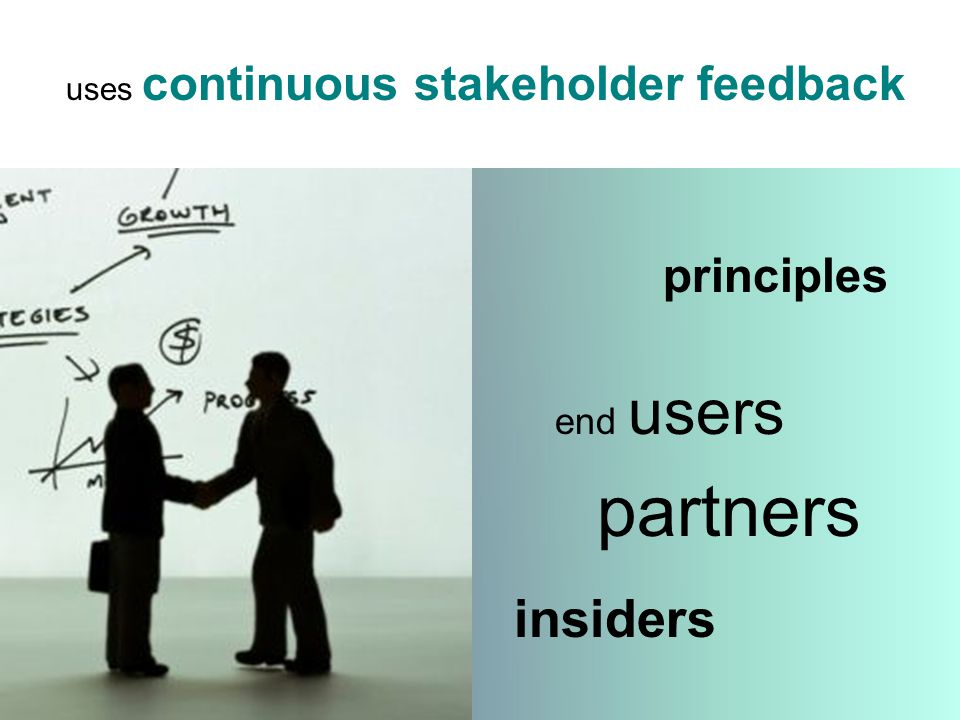 insiders principles end users partners