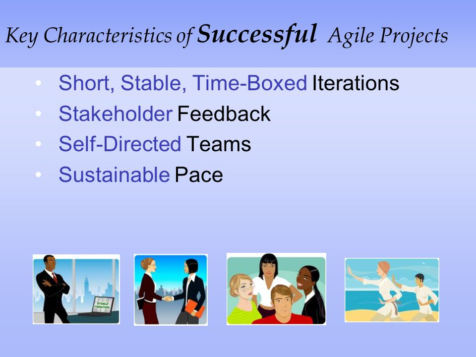 Key Characteristics of Successful Agile Projects