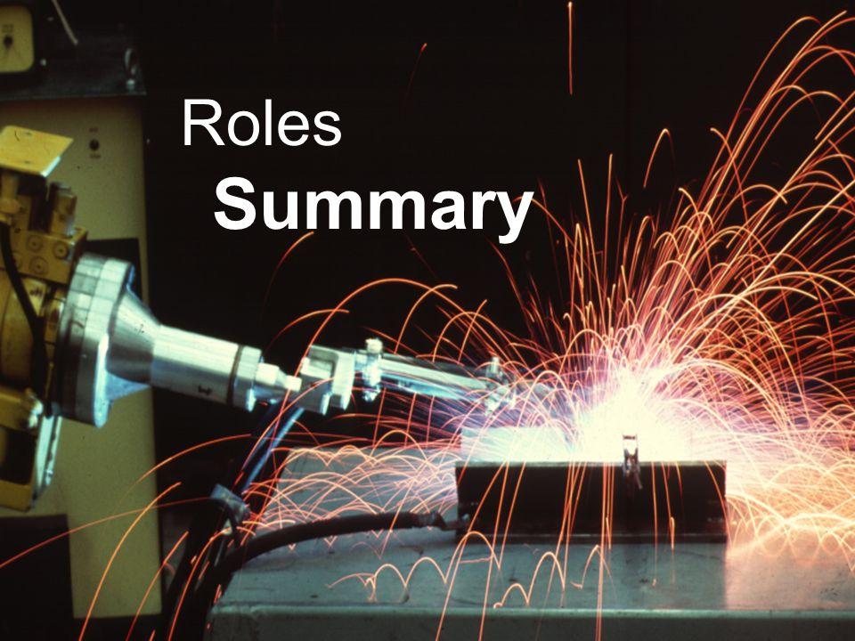 Definitions Roles Summary