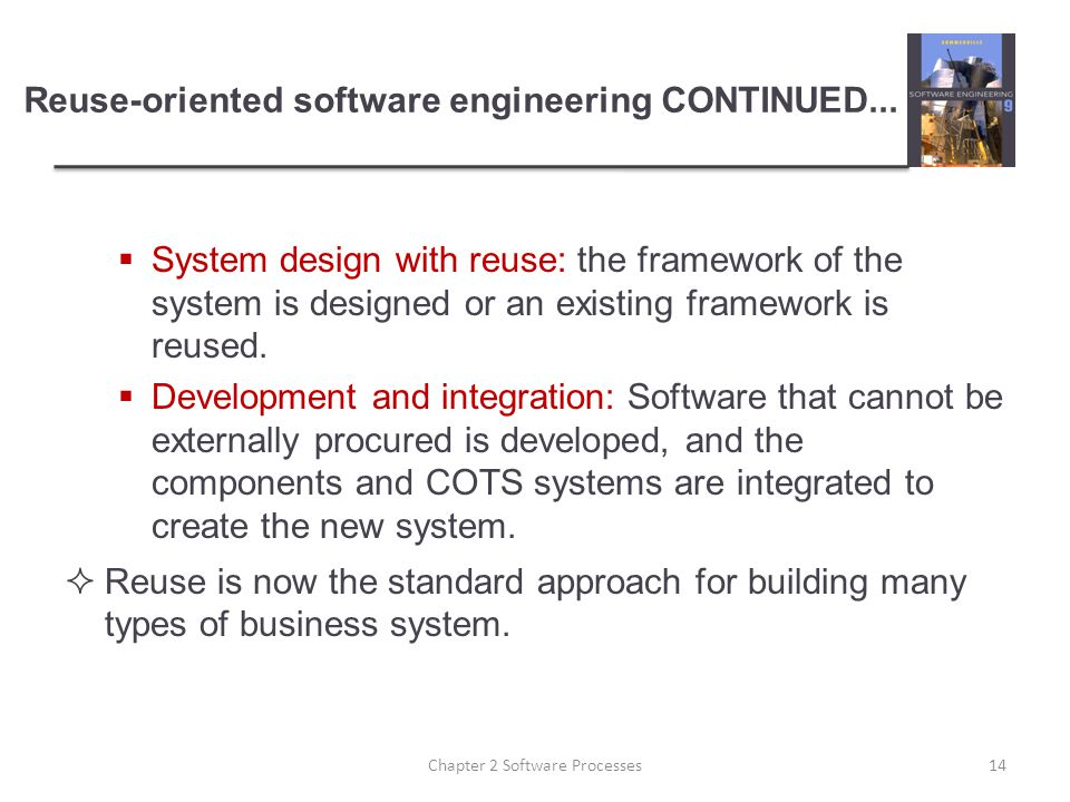 Reuse-oriented software engineering CONTINUED...