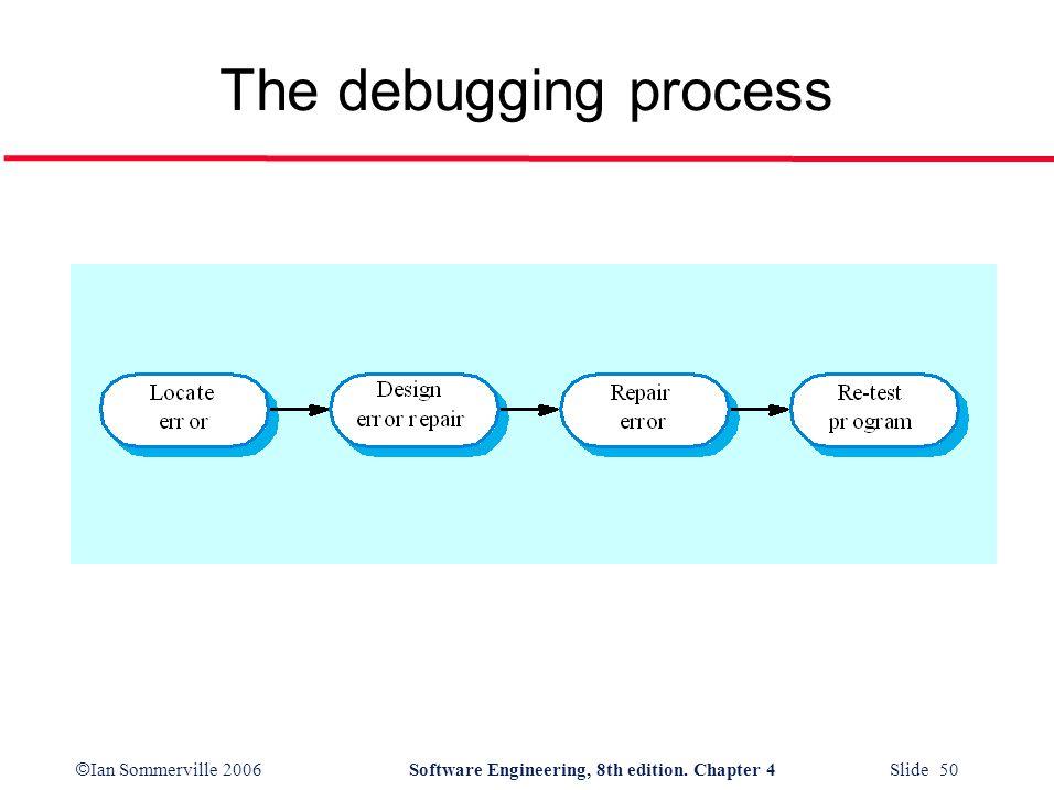The debugging process