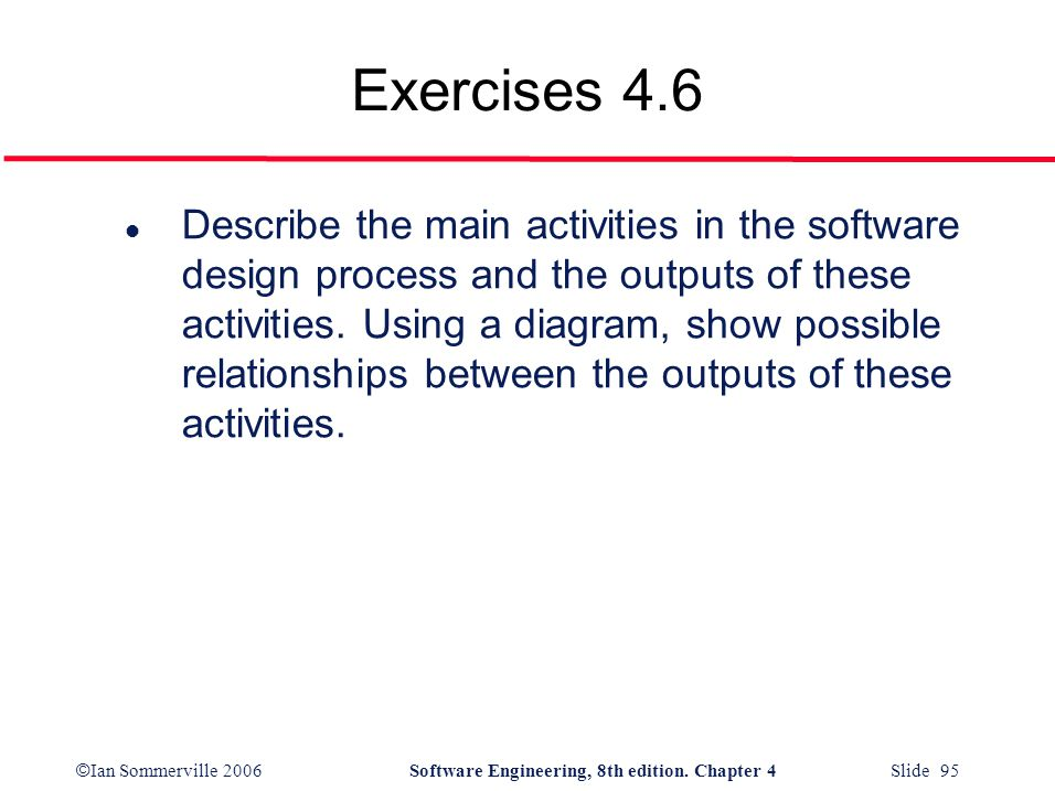 Exercises 4.6