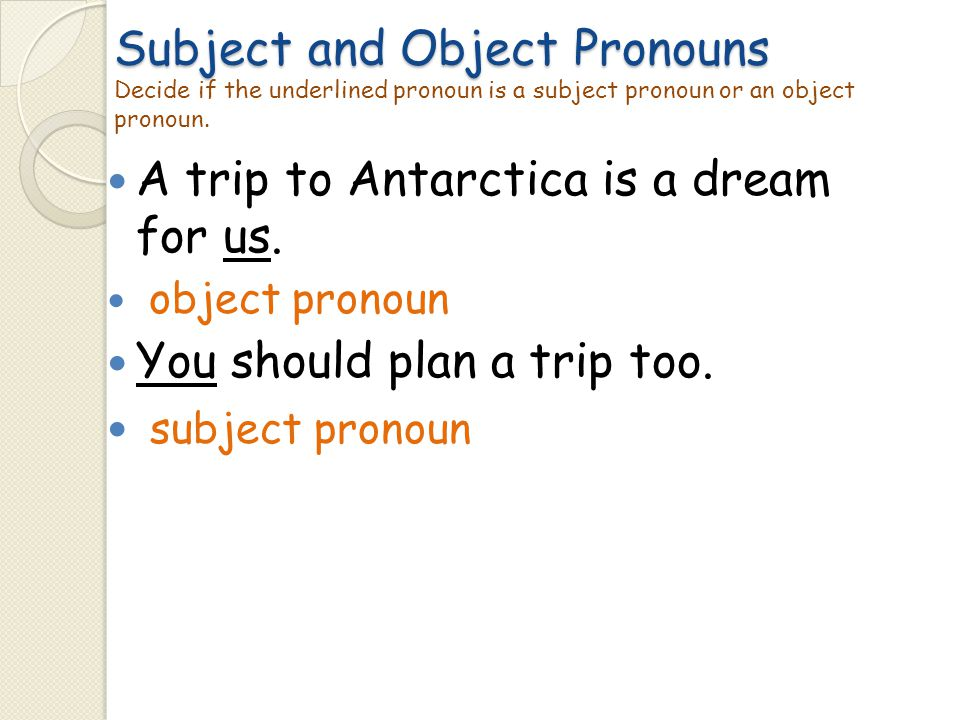 A trip to Antarctica is a dream for us.
