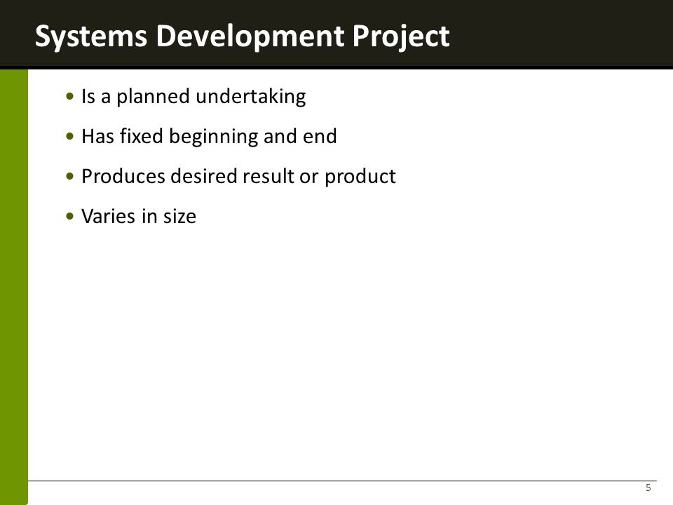 Systems Development Project