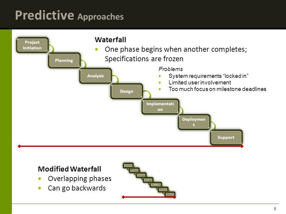 Predictive Approaches
