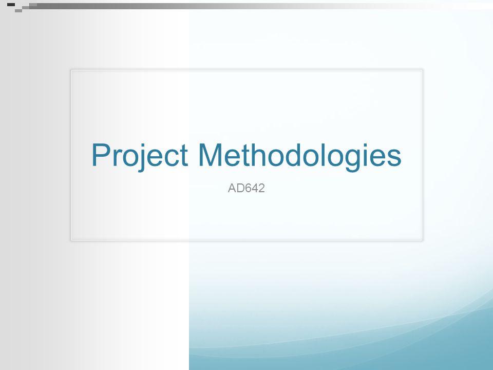 Project Methodologies