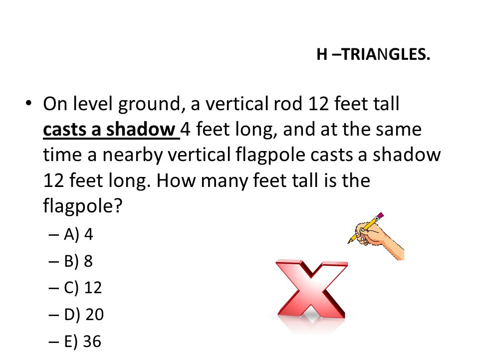 H –TRIANGLES.
