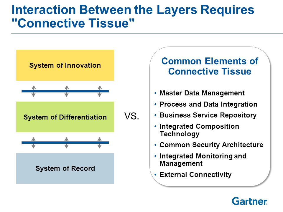 Governance Differences Between the Layers
