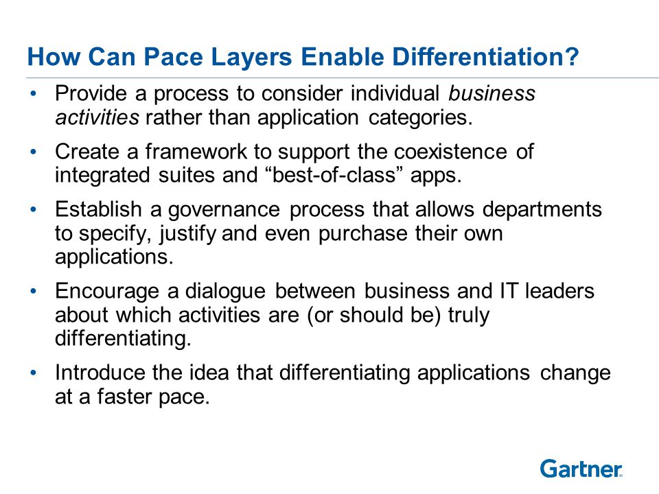 How Can Pace Layers Encourage Innovation