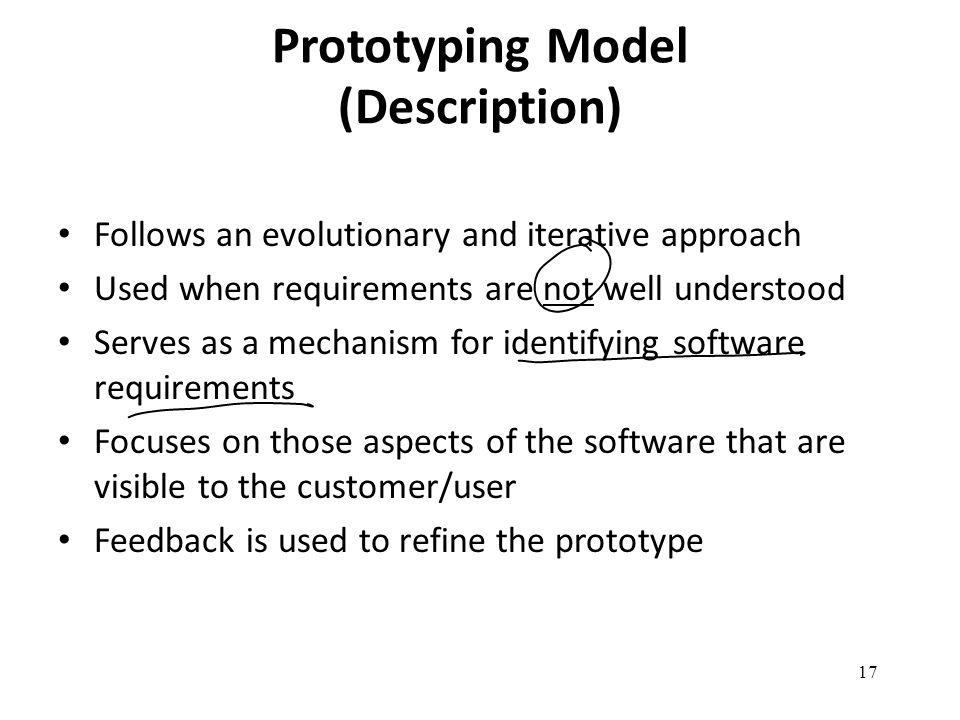Prototyping Model (Description)