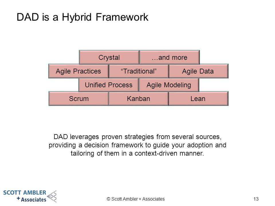 DAD is a Hybrid Framework