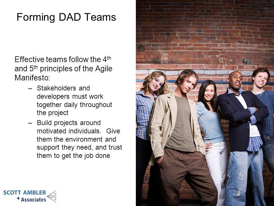Module 3 - Forming DAD Teams