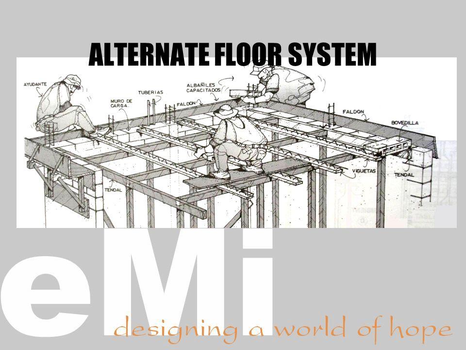 ALTERNATE FLOOR SYSTEM