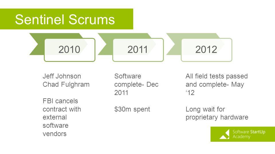 Sentinel Scrums 2010 2011 2012 Jeff Johnson Chad Fulghram