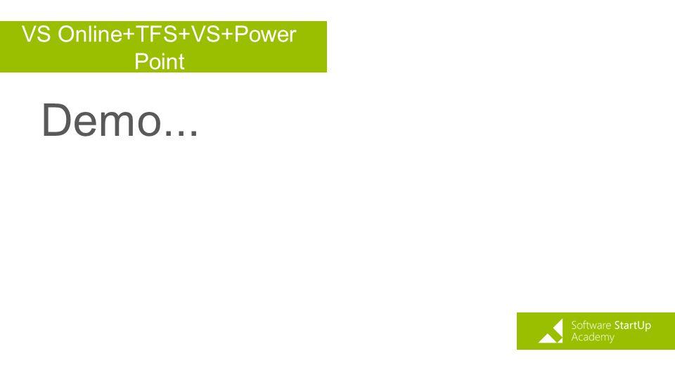 VS Online+TFS+VS+Power Point
