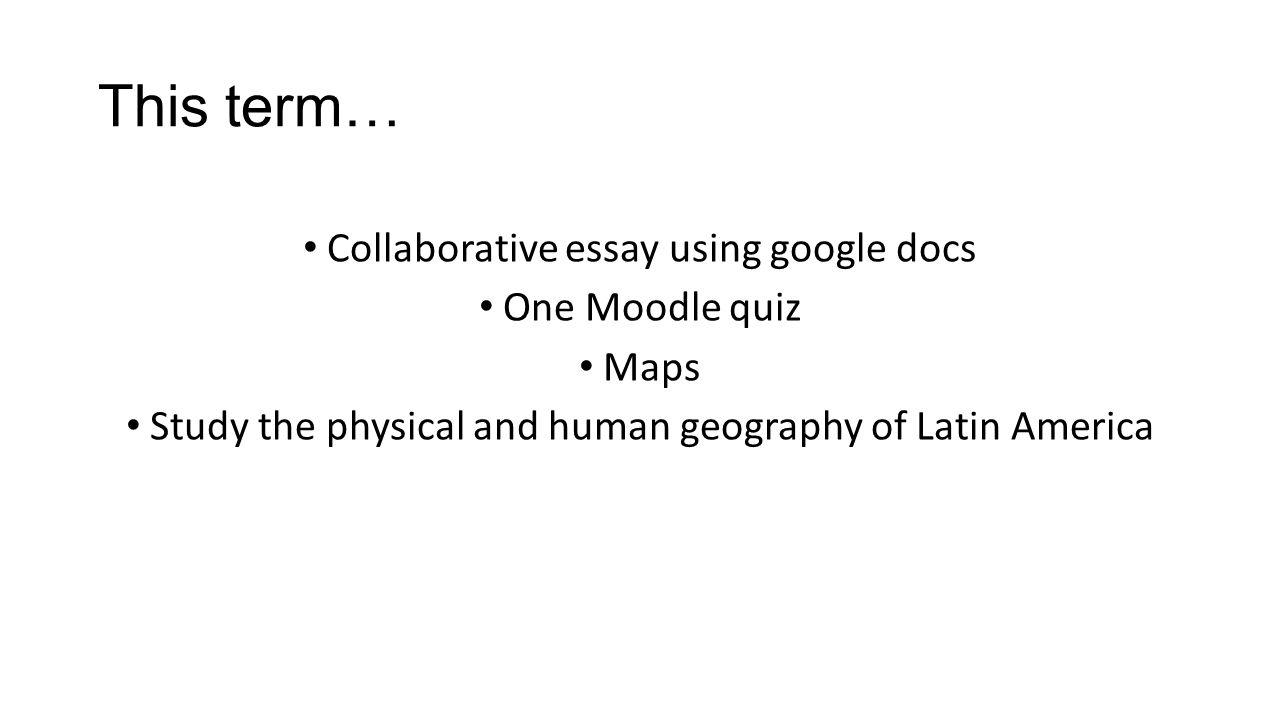 essay questions on latin america View and download latin america essays examples also discover topics, titles, outlines, thesis statements, and conclusions for your latin america essay.