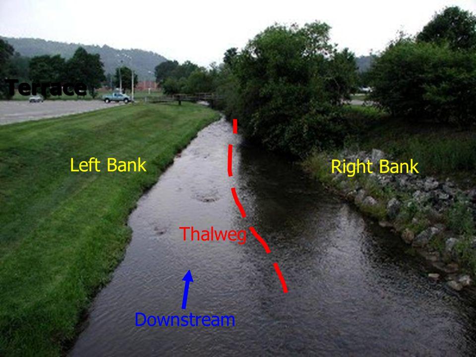 Terrace Left Bank Right Bank Thalweg Downstream