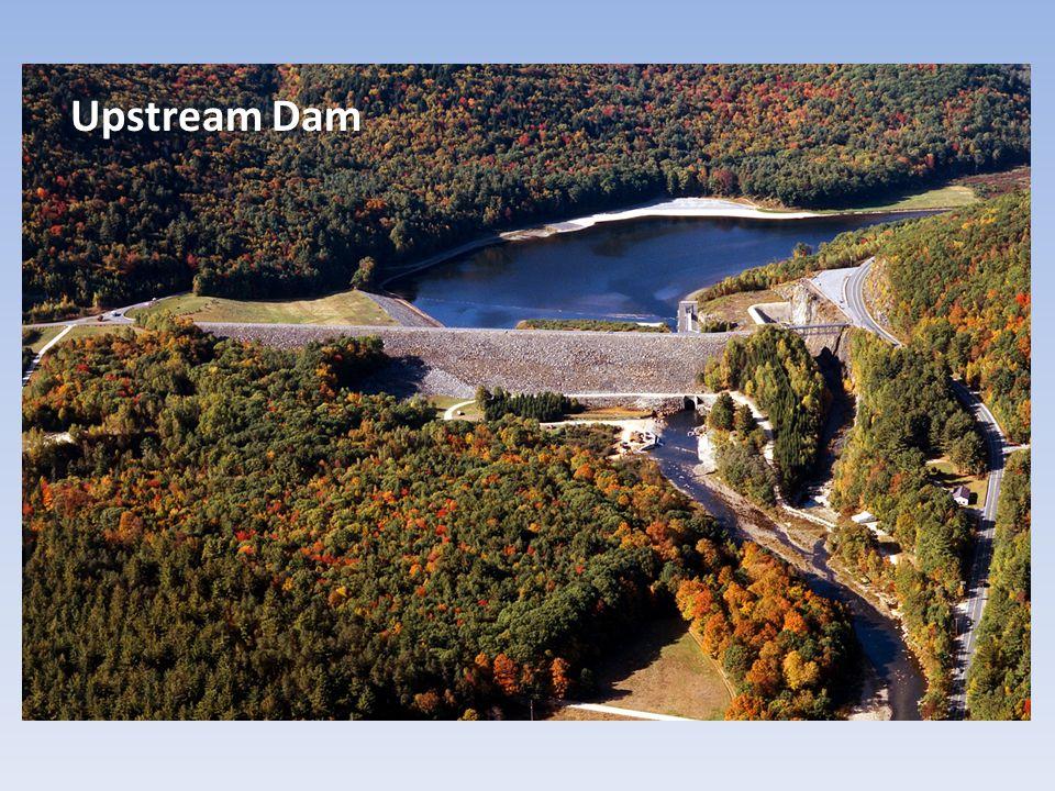 Upstream Dam > ↓ Sediment Supply >>> Degradation