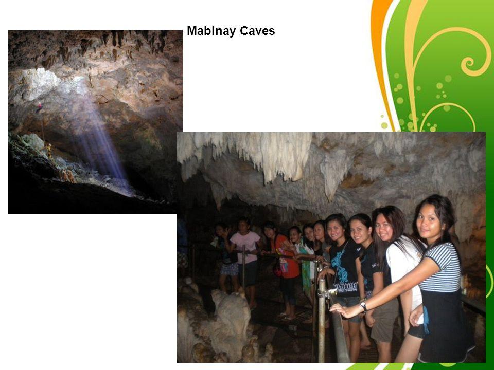 Mabinay Caves