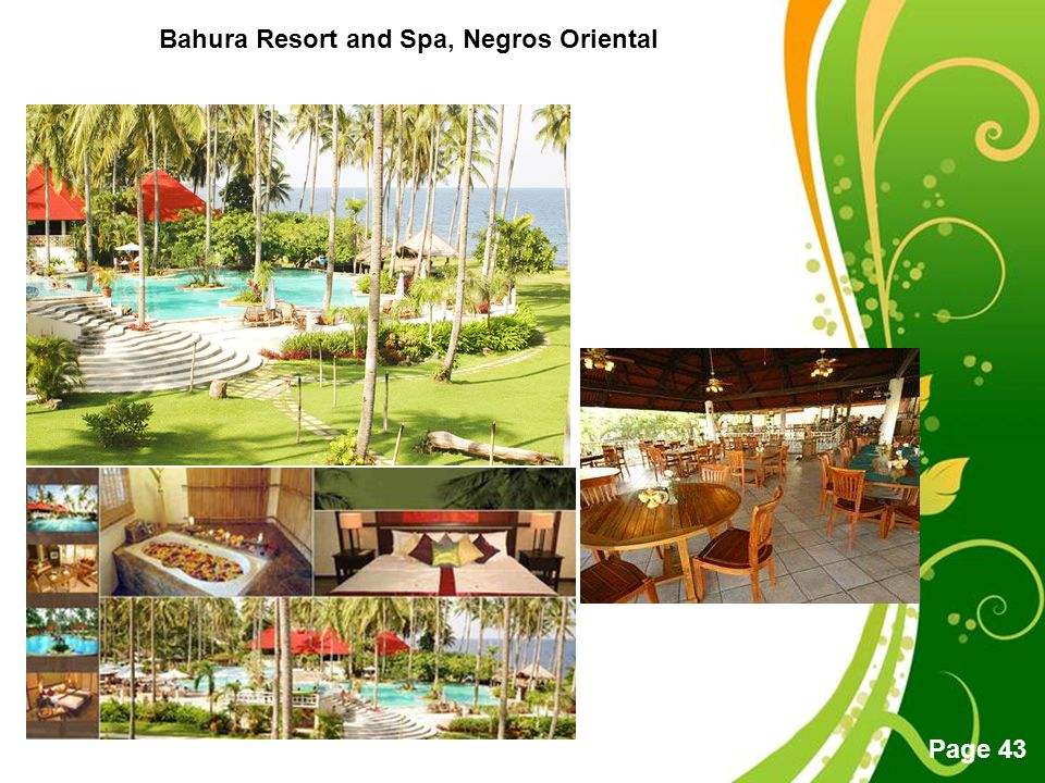 Bahura Resort and Spa, Negros Oriental