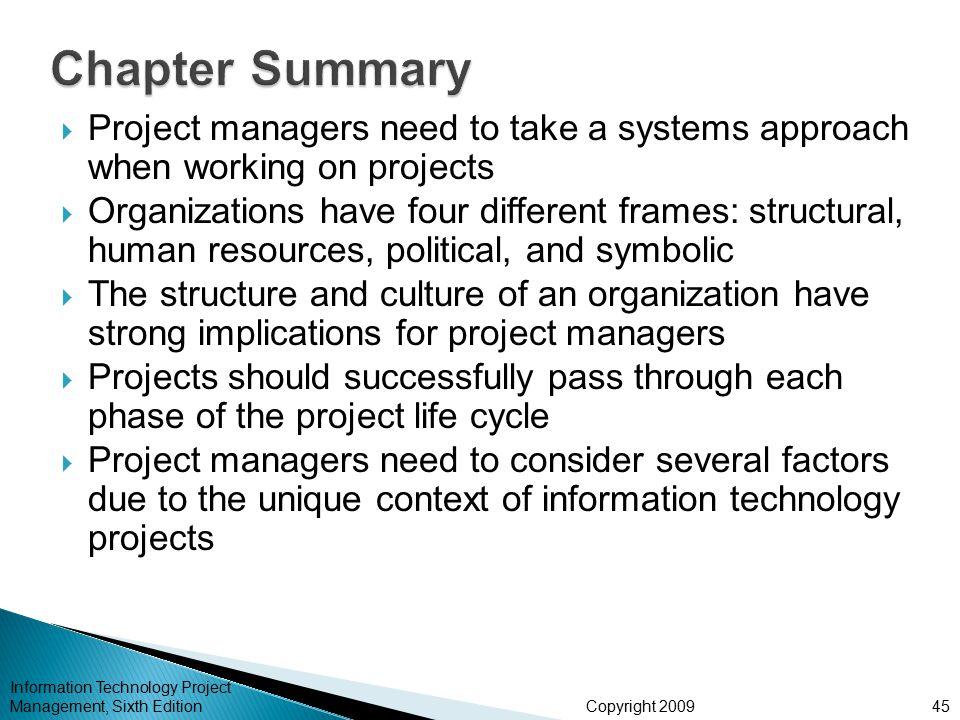 project management chapter 2