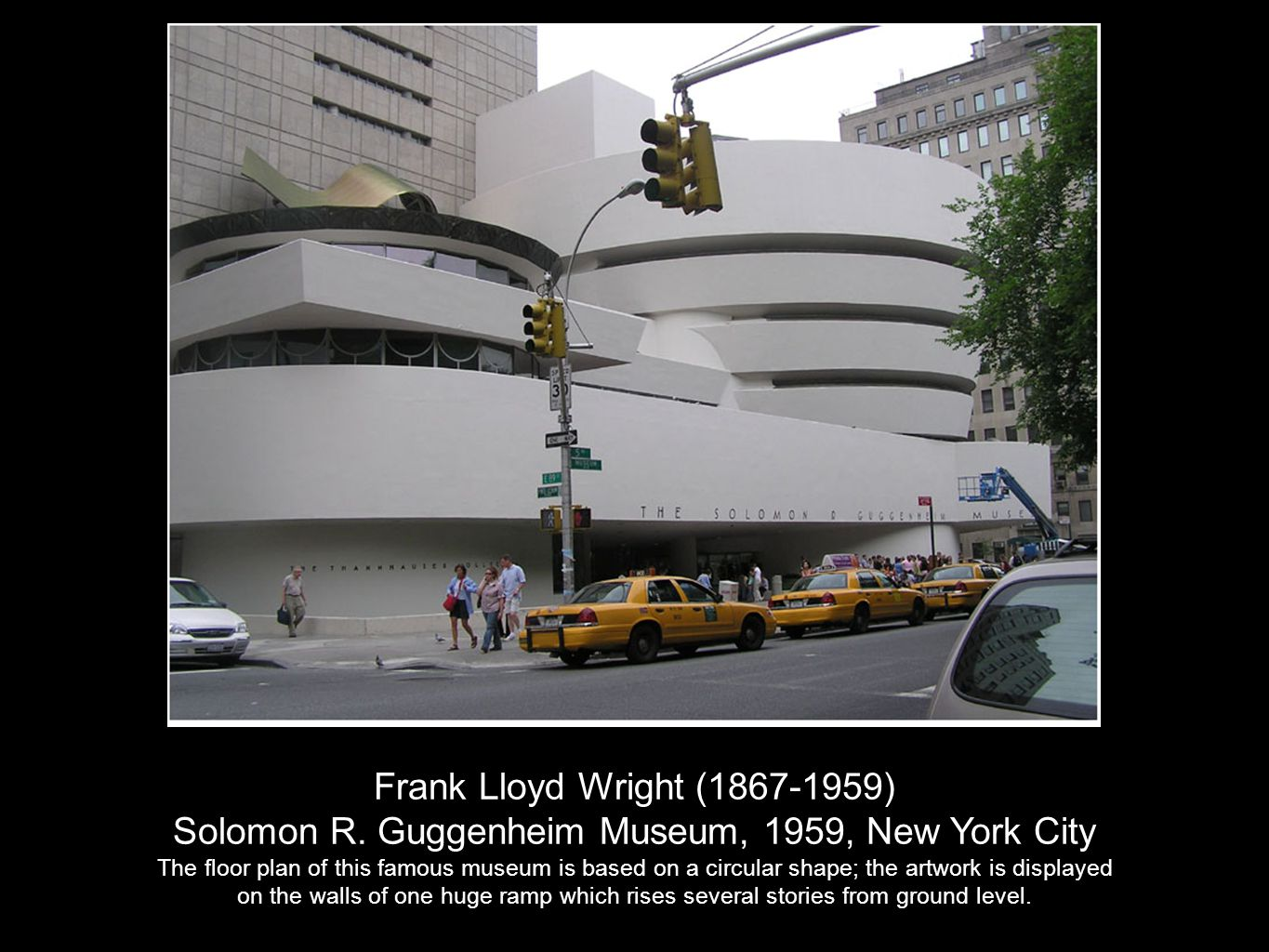 Solomon R. Guggenheim Museum, 1959, New York City