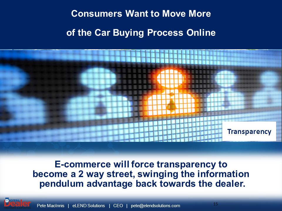 Consumers Want to Move More of the Car Buying Process Online