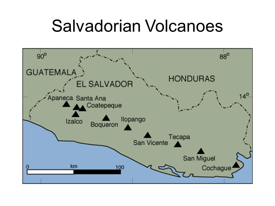 Salvadorian Volcanoes