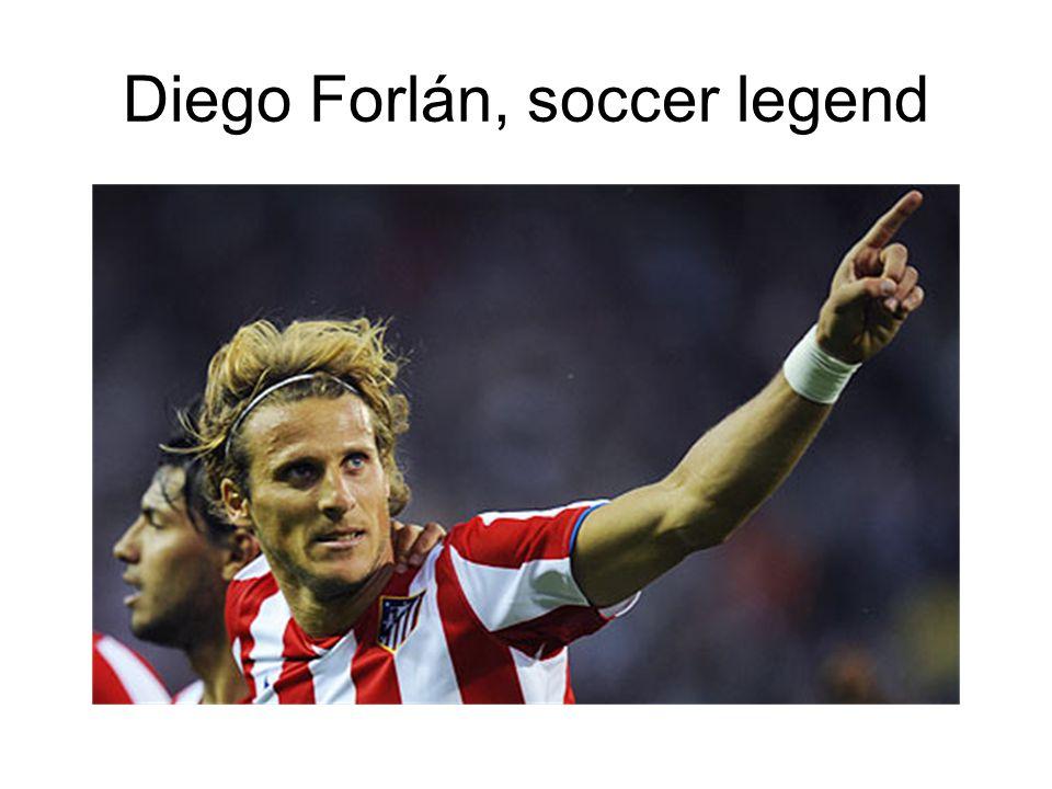 Diego Forlán, soccer legend