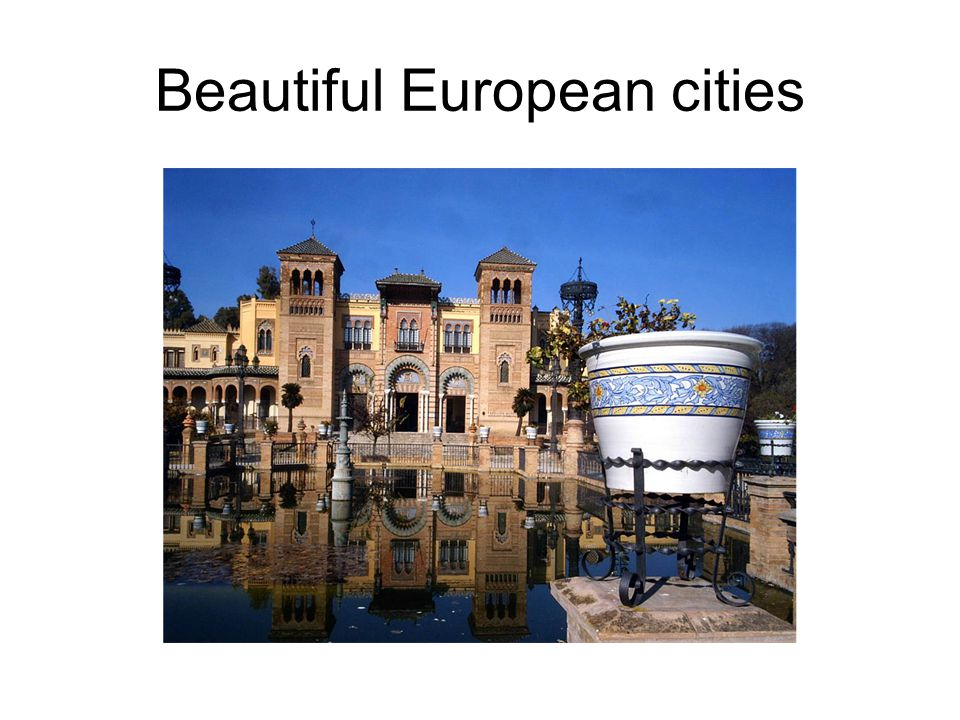 Beautiful European cities