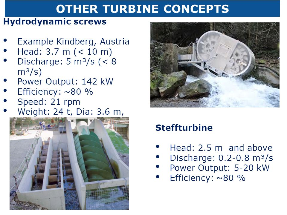 OTHER TURBINE CONCEPTS