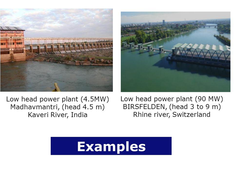Low head power plant (4. 5MW) Madhavmantri, (head 4
