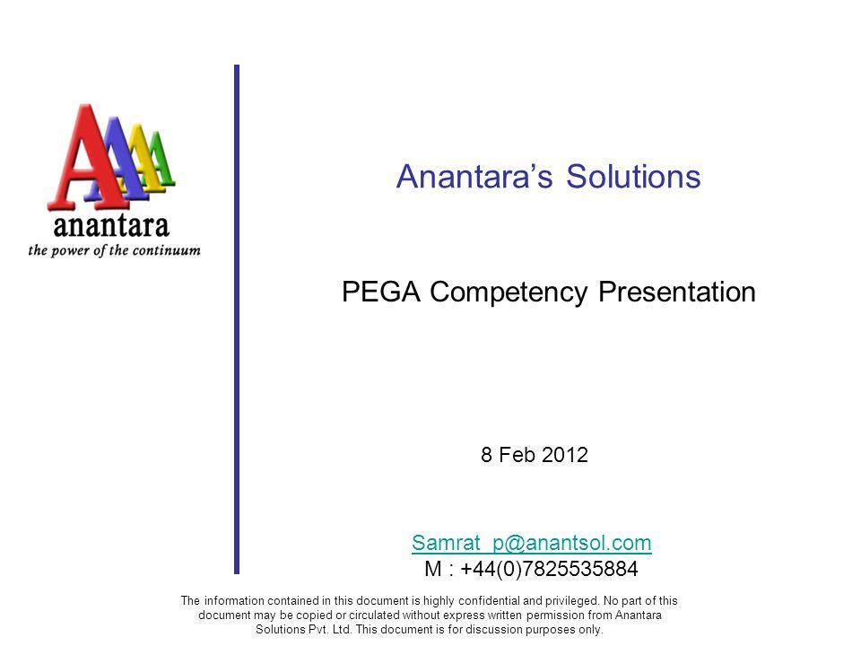 PEGA Competency Presentation