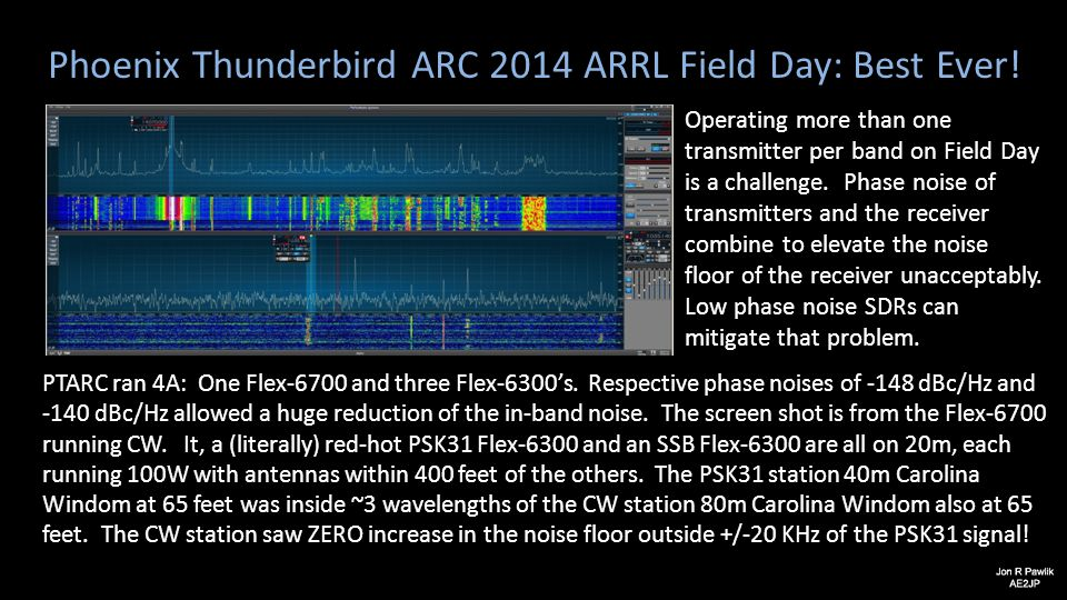 Phoenix Thunderbird ARC 2014 ARRL Field Day: Best Ever!