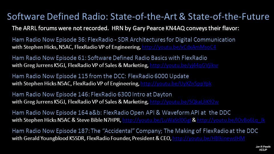Software Defined Radio: State-of-the-Art & State-of-the-Future