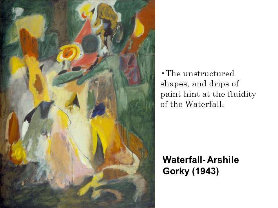 Waterfall- Arshile Gorky (1943)