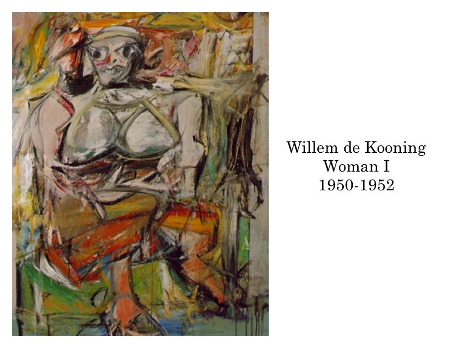 Willem de Kooning Woman I 1950-1952