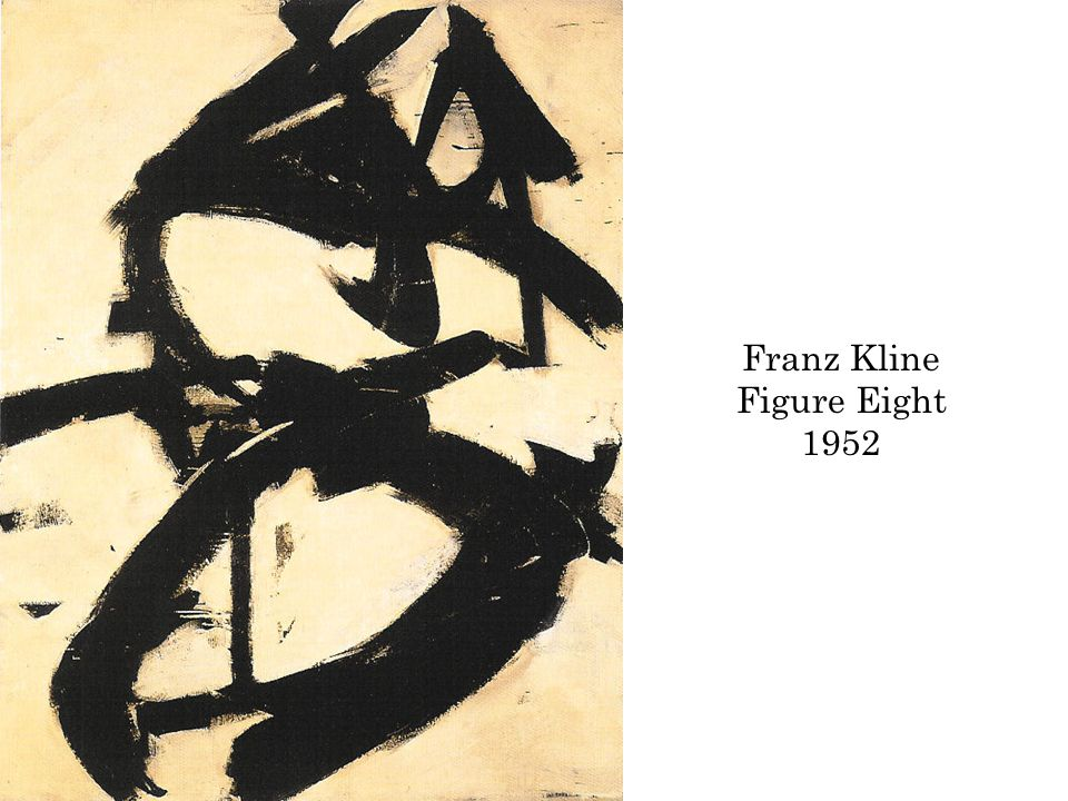 Franz Kline Figure Eight 1952