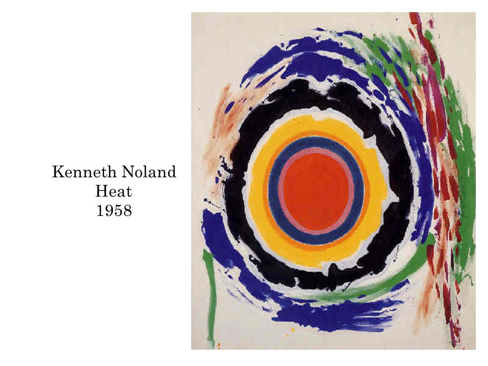 Kenneth Noland Heat 1958