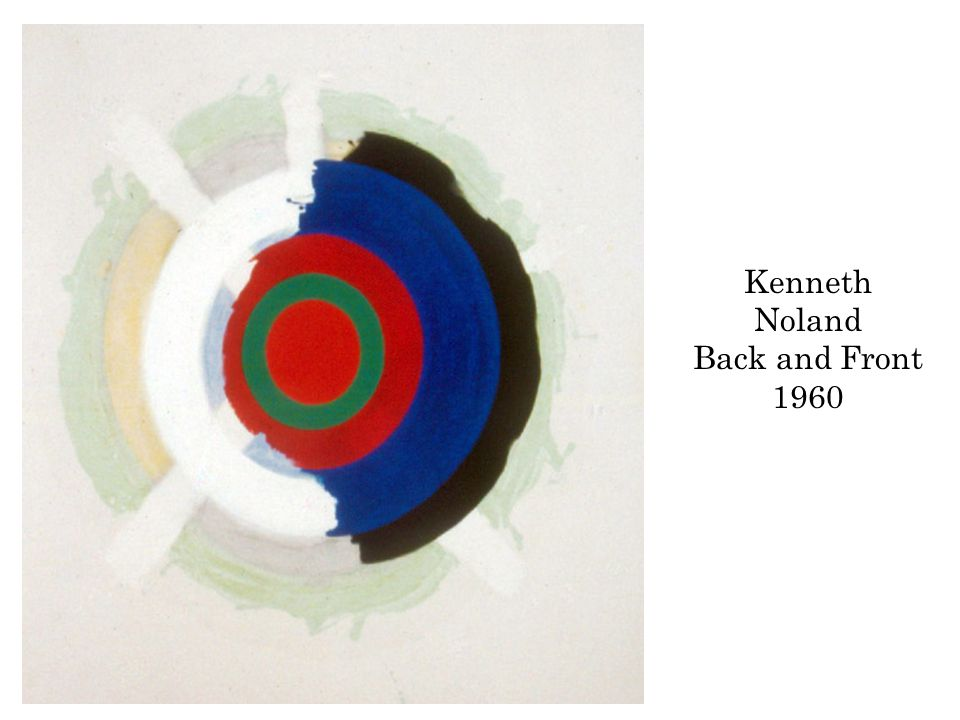 Kenneth Noland Back and Front 1960
