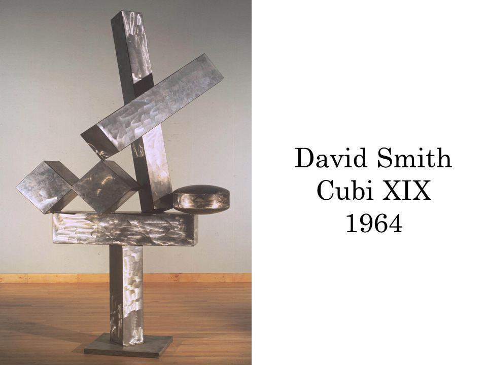 David Smith Cubi XIX 1964