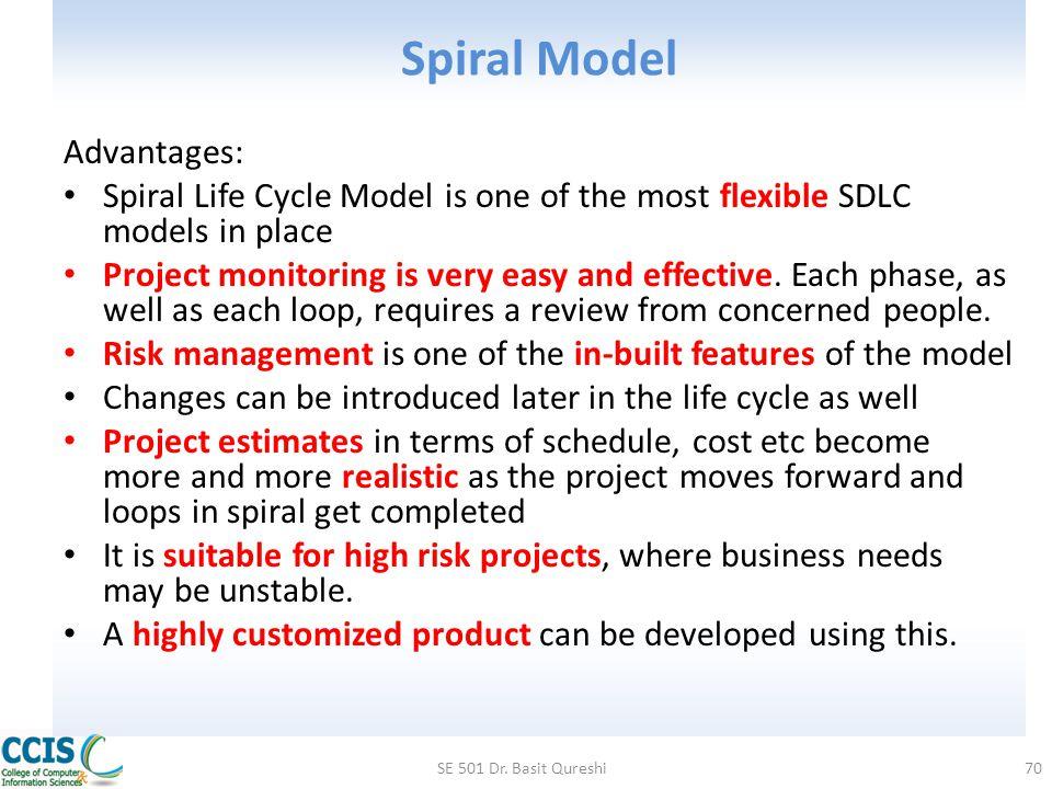 Spiral Model Advantages: